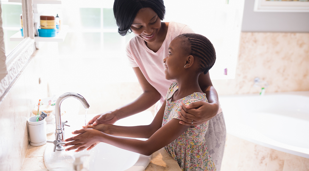 Hints for happy and healthy hand washing