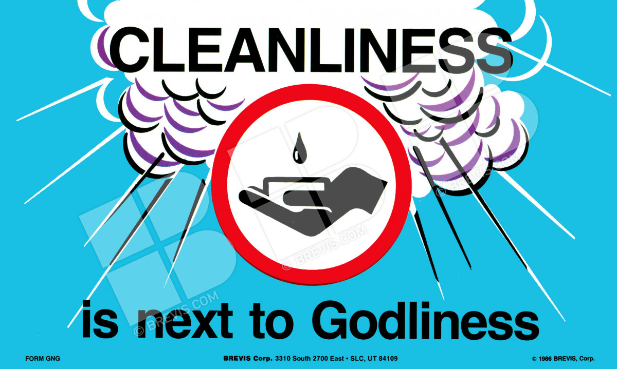 essays on cleanliness is next to godliness