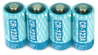 Batteries for SpotShooters, 4-pack