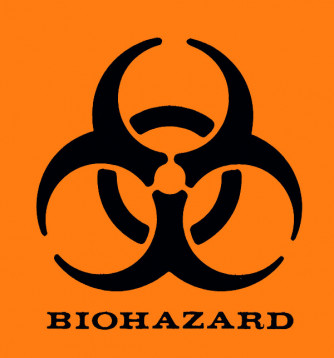 Biohazard Labels 5 Inch