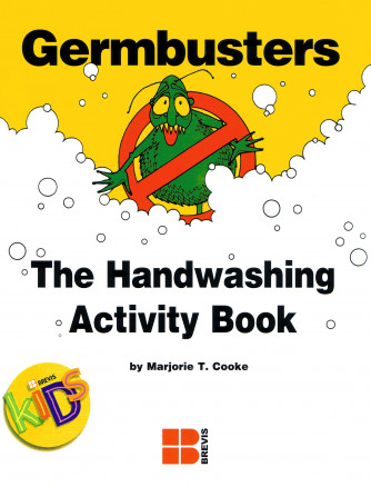 Germbusters Handwashing activity book for primary grades.