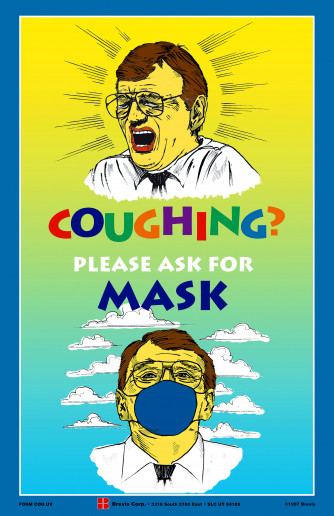 Coughing? Please ask for Mask Poster