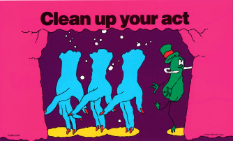 Clean Up Your Act Reminder Card
