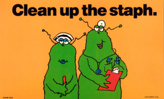 Clean Up The Staph Reminder Card