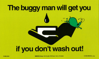 The Buggy Man Will Get You/Think Alike! Reminder Card.
