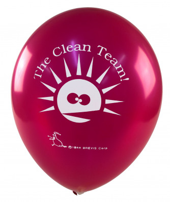 Clean Team Balloons