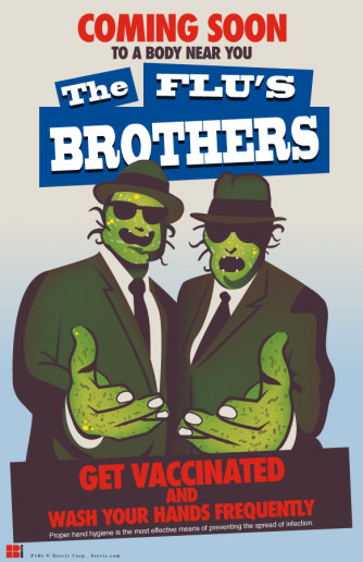 Flus Brothers Poster