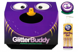 GlitterBuddy Viewing Box with Lamp and GlitterBug Gel