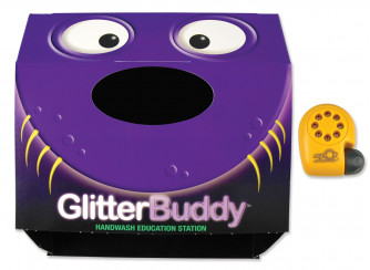 GlitterBuddy Foldable Disclosure Center with SS8 Lamp