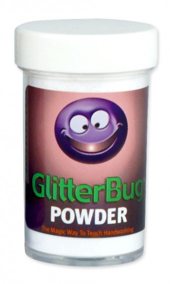 GlitterBug Powder 2oz bottle.