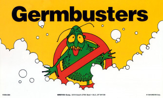 Germbusters/Let Your Fingers Do The Washing Poster
