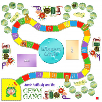 GERM GAME Board Game
