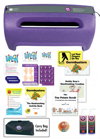 GermBusters Deluxe Kit with Maxi View Box.