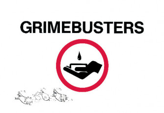 Grimebusters/GermBesters Two-Sided Reminder Card