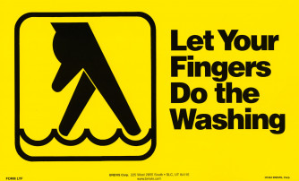 Let Your Fingers Poster - Large Format
