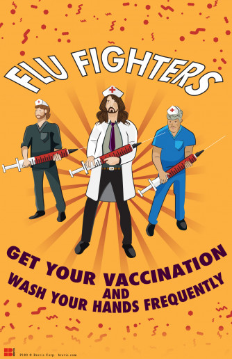 Flu Fighters Poster