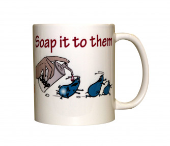 Soap It To Them Mug, 11oz