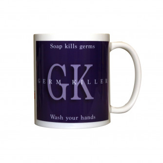 Soap Kills Germs Mug, 11oz