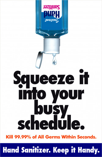 Squeeze it Into... Poster, Laminated