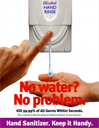 Hand Sanitizer - Keep It Handy Poster