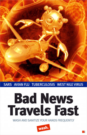 Bad News Travels Fast Poster