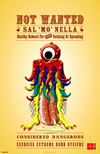 NOT WANTED Sal Mo Nella Poster