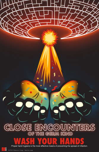 Close Encounters of the Germ Kind Poster