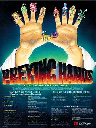 Preying Hands Poster