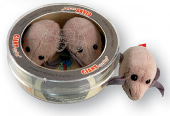 Dust Mite Mini Microbe Set of 3 Plush Minis