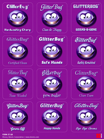 GlitterBug Reward Stickers