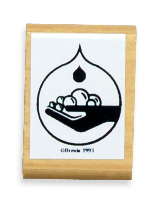 Handwashing Logo Stamp