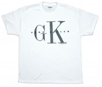 4ec121e433 GK Germ Killer Tshirt White