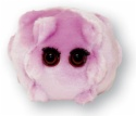 GM.EBARR Epstein-Barr (Kissing Disease) Plush Microbe